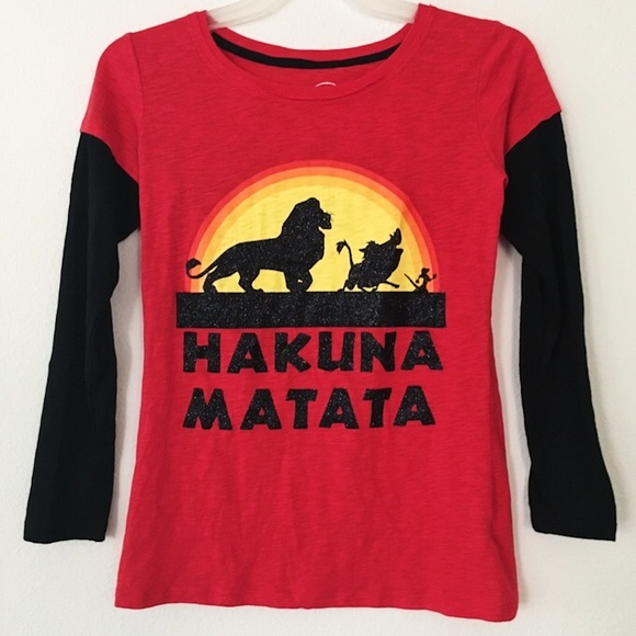 554536ea Disney Shirts & Tops | Lion King Hakuna Matata Shirt | Poshmark
